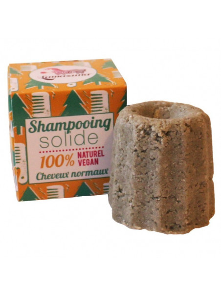 Shampooing solide cheveux normaux