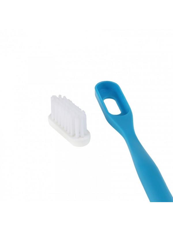 Brosse à dents bleue