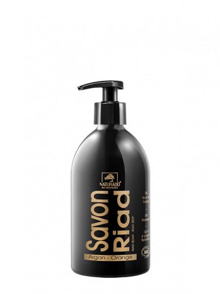 Savon liquide Riad argan orange Naturado 500 ml