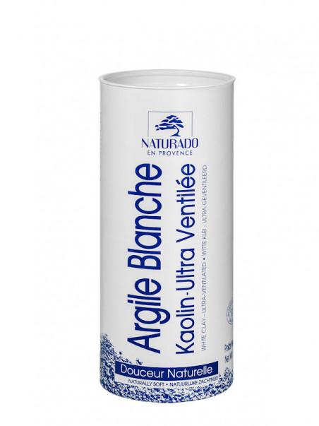 Argile blanche kaolin poudre surfine Naturado 300 g