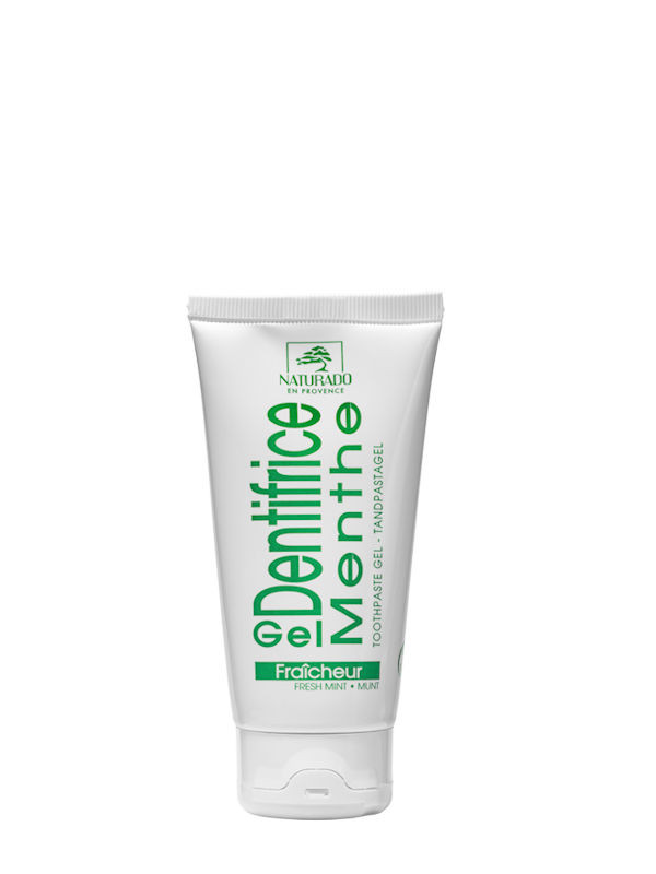 Gel dentifrice menthe Naturado tube 75 ml