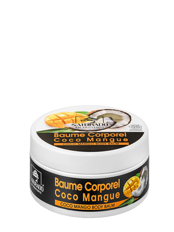 Baume corps coco mangue Naturado 200 ml