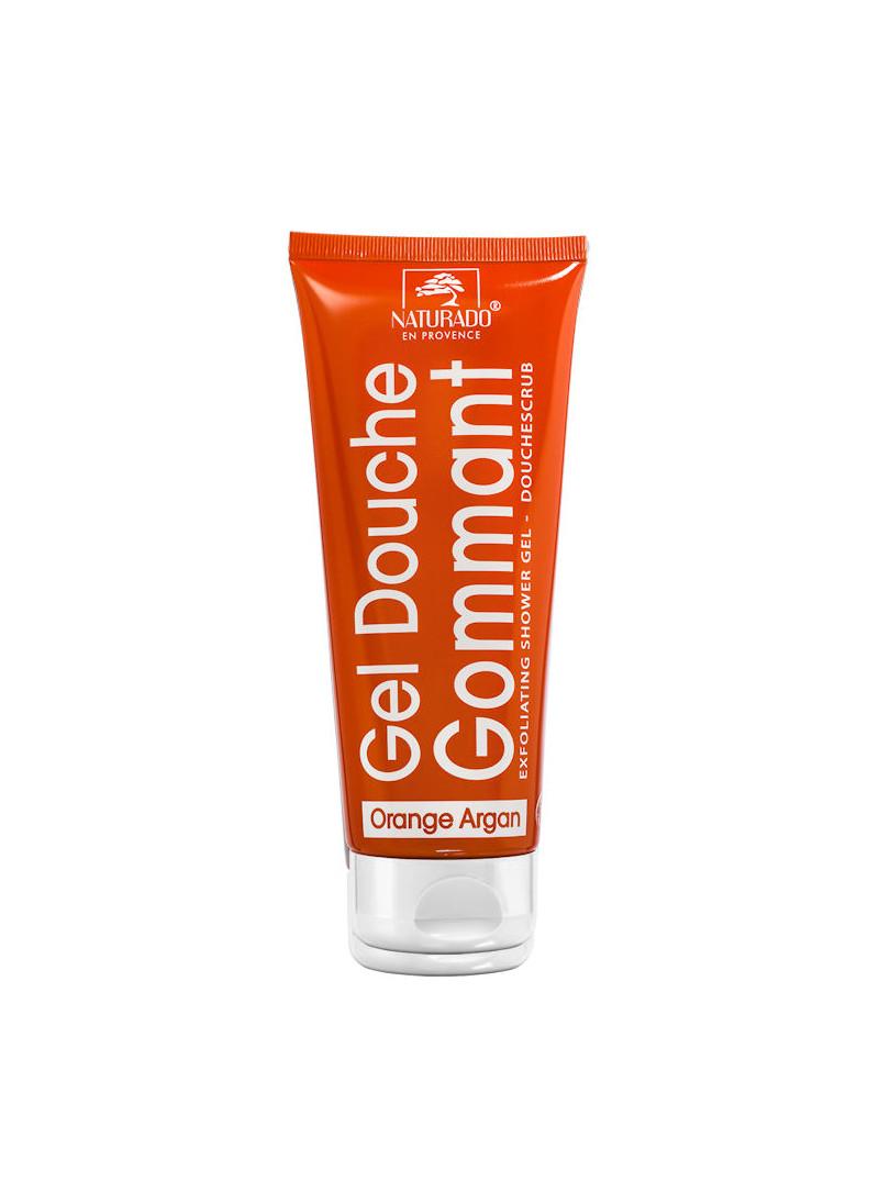 Gel douche gommant argan orange Naturado tube 200 ml