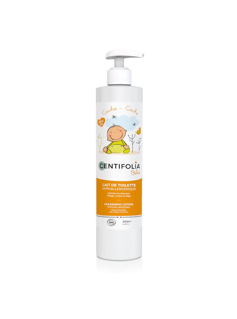 Lait de toilette bébés Centifolia 250 ml
