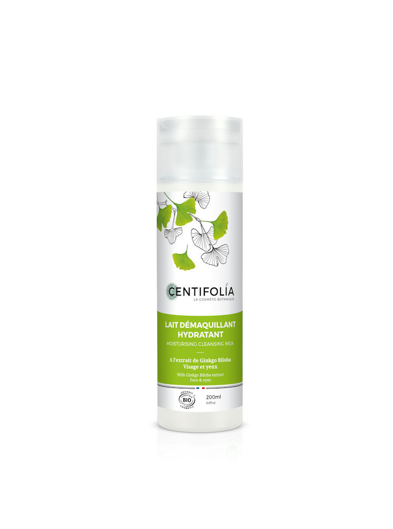 Lait démaquillant Hydratant Ginkgo Biloba Centifolia 200ml