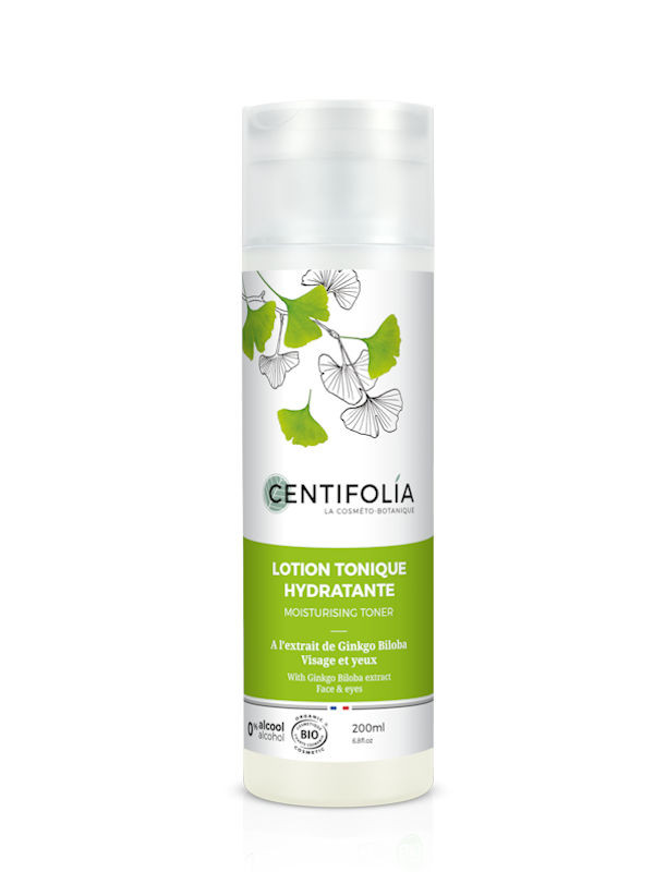 Lotion tonique Ginkgo Biloba Centifolia 200 ml