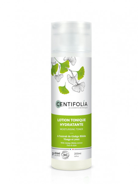 Lotion tonique Ginkgo Biloba Centifolia 200 ml
