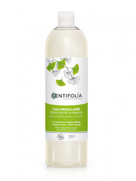 Eau Micellaire Ginkgo Biloba Centifolia 500 ml