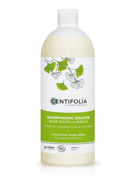 Shampoing Ginkgo Biloba Centifolia 500 ml
