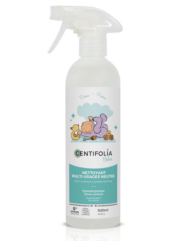Spray nettoyant mult-surfaces neutre Centifolia 500 ml