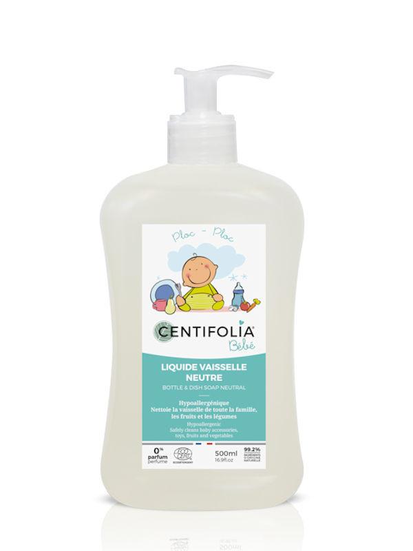 Liquide vaisselle neutre Centifolia 500 ml