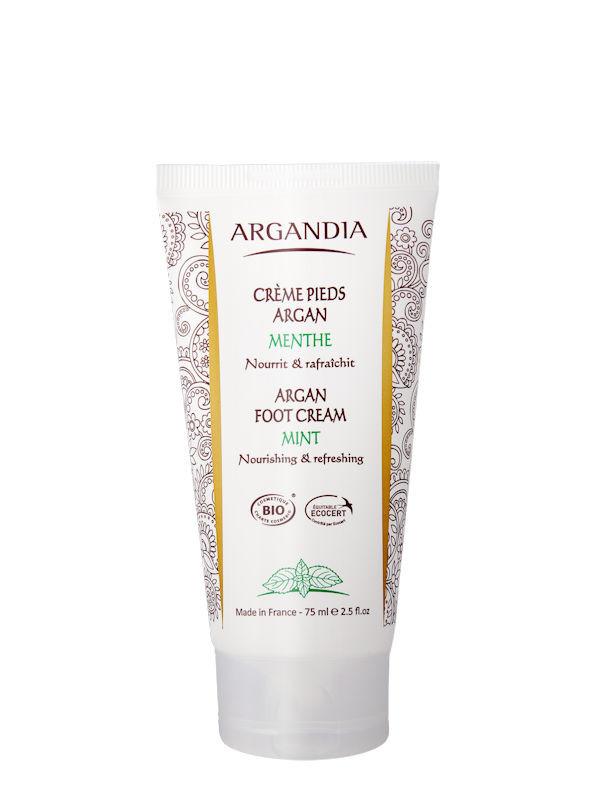 Crème pieds argan menthe Argandia 75ml