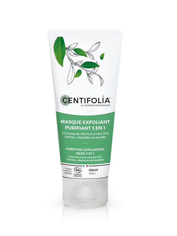 Masque Exfoliant Purifiant Centifolia tube 100 ml