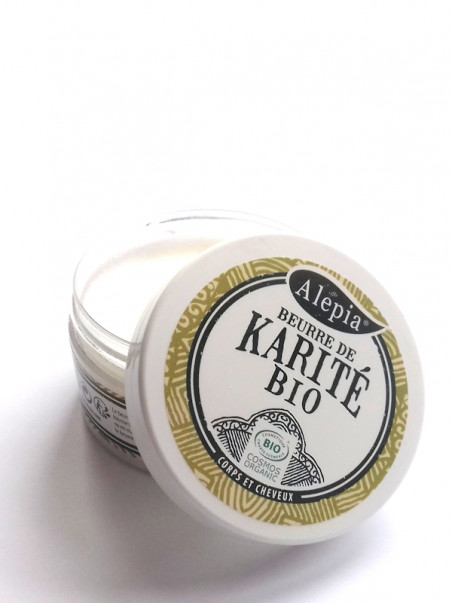 Beurre de karité pur bio Alepia