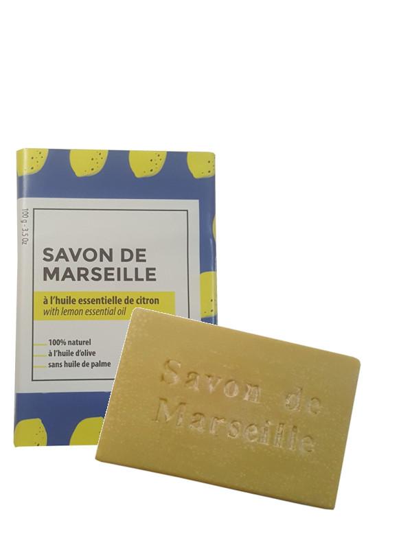 Savon de Marseille au citron 100g