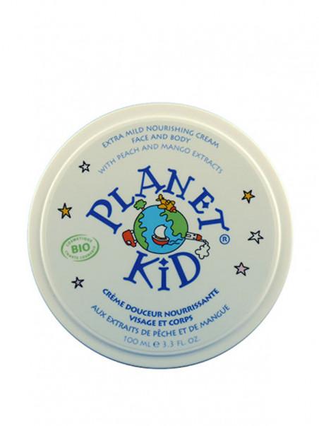 Crème Pêche et Mangue Planet Kid