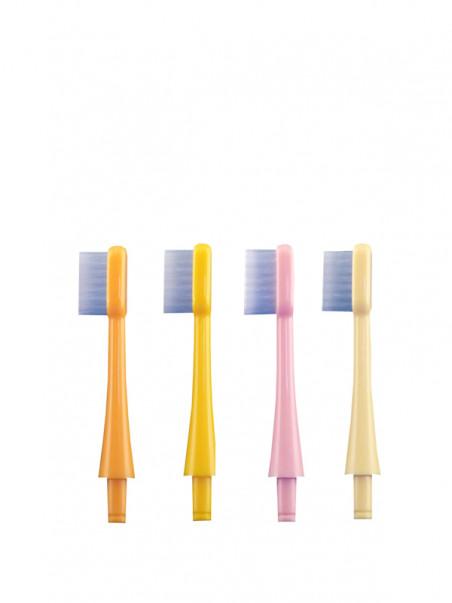 Têtes de rechange pour brosse à dents culbuto PlanetKid par deux