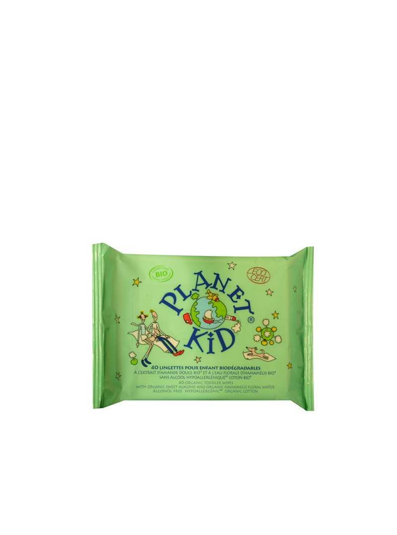 Lingettes Planet Kid