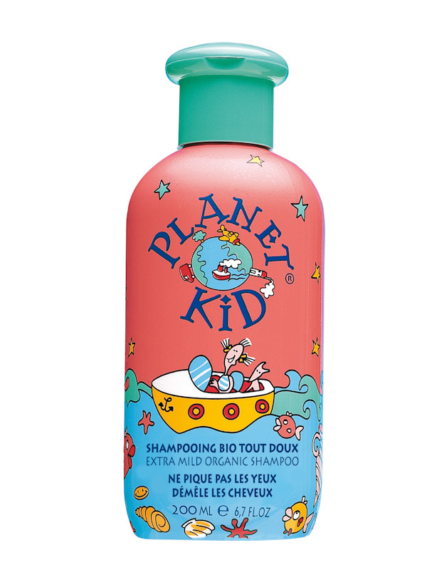 Shampoing framboise Planet Kid 200 ml