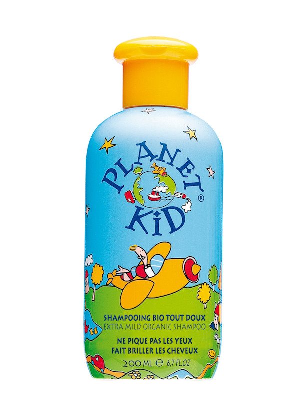 Shampooing abricot Planet Kid 200 ml