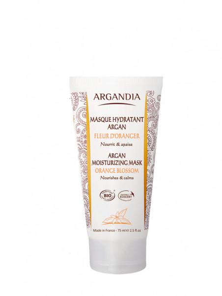 Masque Hydratant Argan Fleur d'oranger Argandia 75 ml