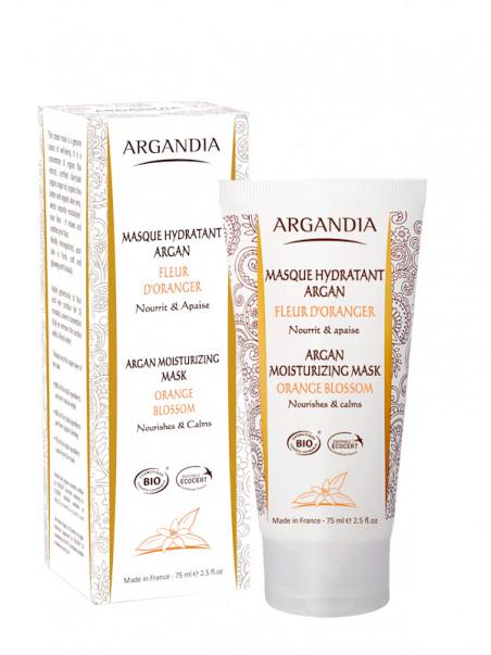 Masque Hydratant argan fleur d'oranger 75 ml Argandia