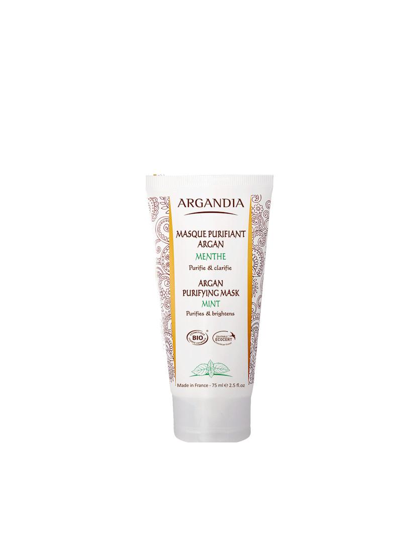 Masque purifiant argan et menthe Argandia 75 ml