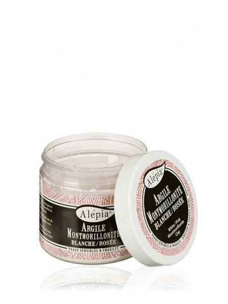 Argile montmorillonite blanche rosée Alepia