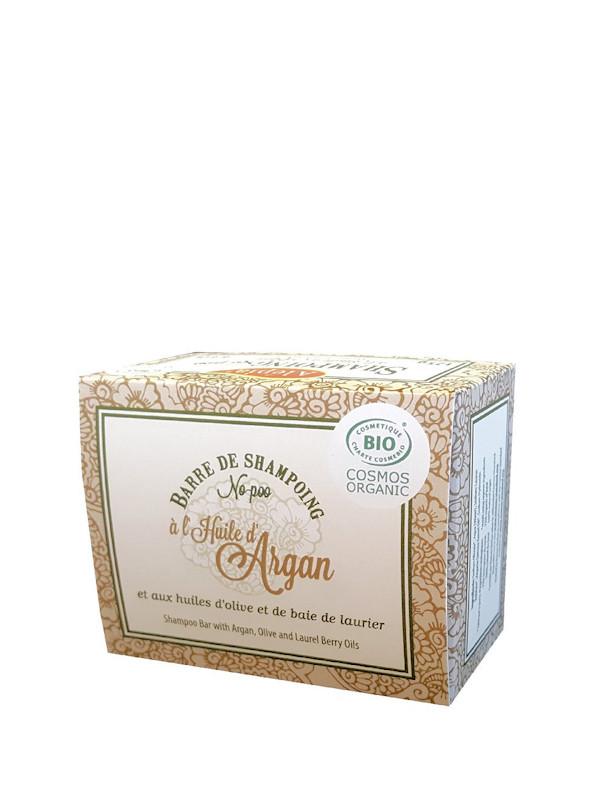 barre de shampoing solide à l'huile d'argan Alepia