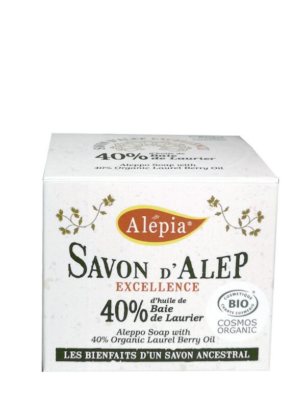Savon d'Alep excellence bio 40% laurier