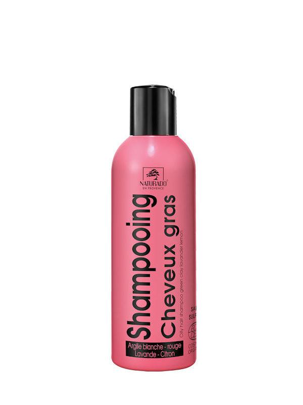 Shampoing cheveux gras Naturado 200 ml