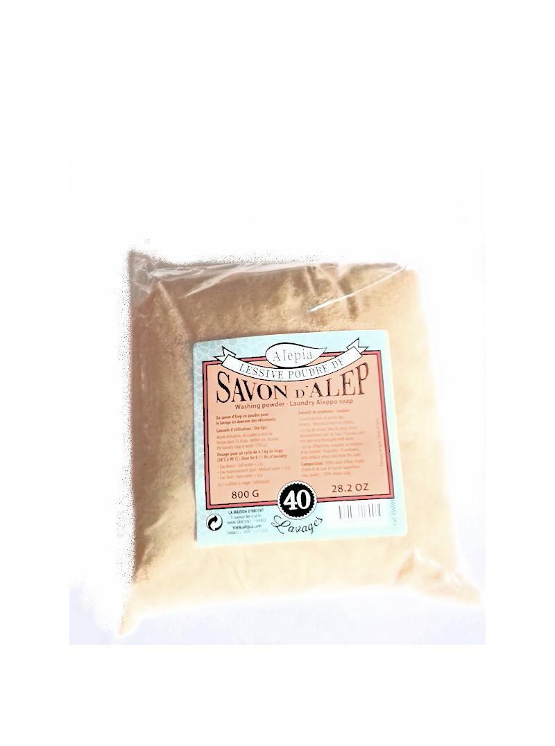 lessive de savon d'alep en poudre 800 g