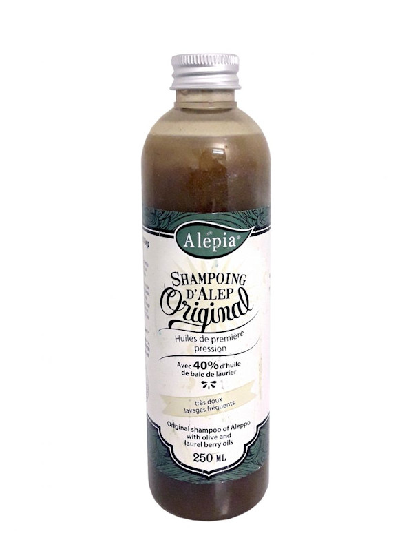 Shampoing d'Alep 40% laurier bio Alepia 250 ml