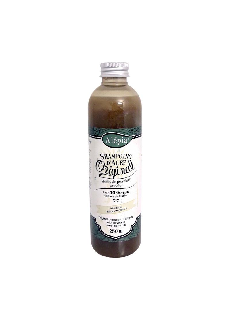 Shampoing d'Alep 40% laurier bio Alepia 250 ml