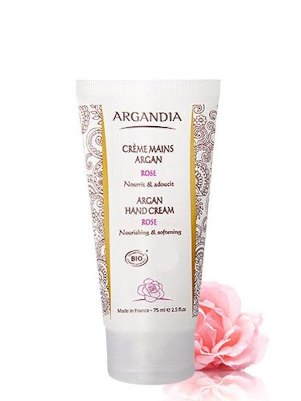 Crème mains argan et rose Argandia 75 ml