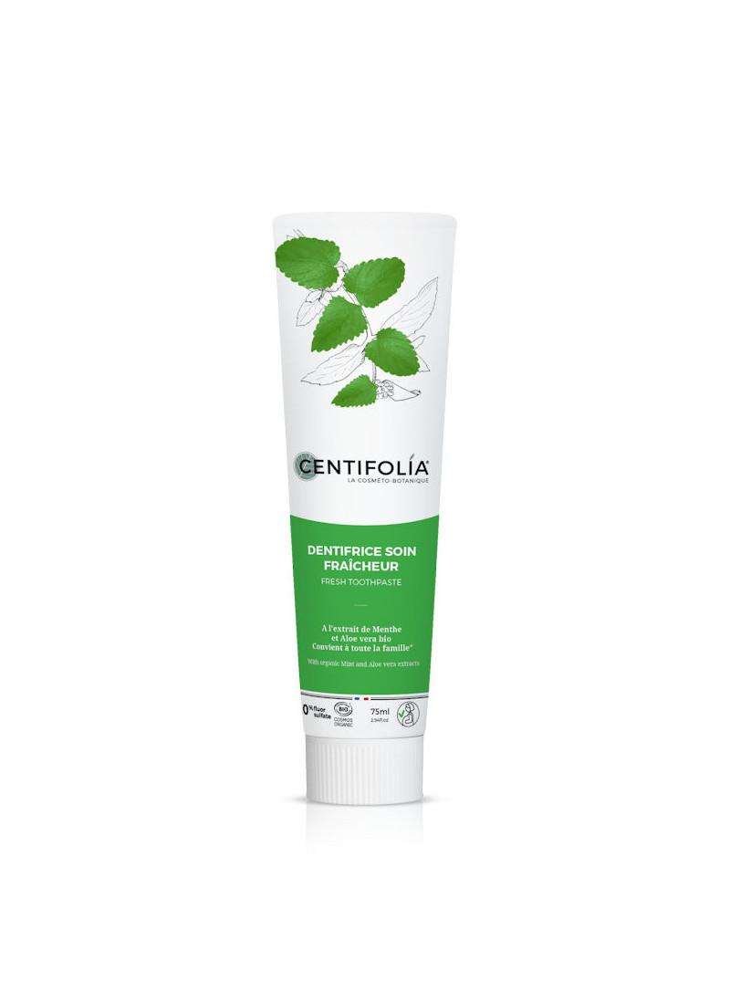 Dentifrice soin fraîcheur Centifolia 75 ml