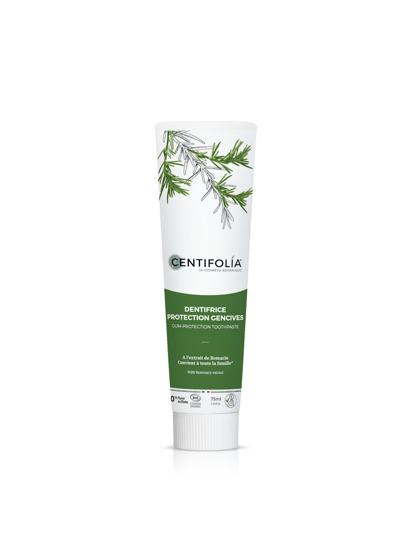 Dentifrice protection des gencives Centifolia 75 ml au romarin