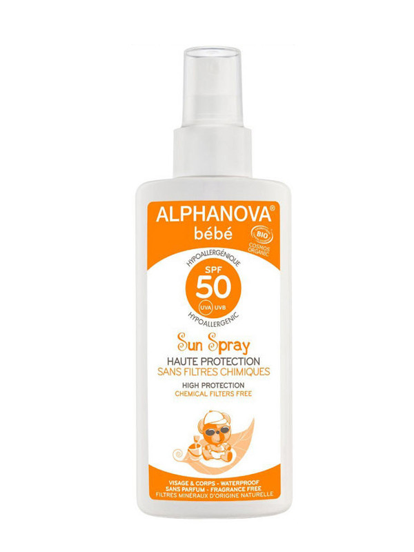 Alphanova Bébé SPF 50 spray 125 ml