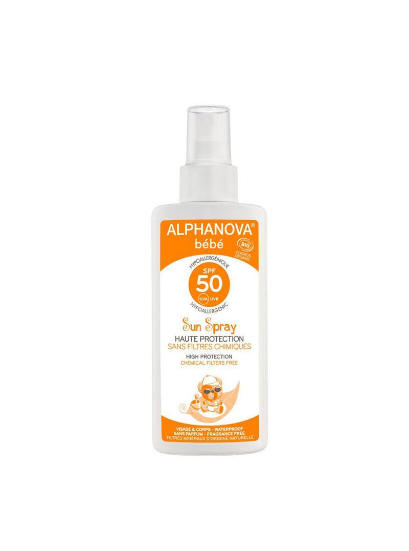 Alphanova Bébé SPF 50 spray 125 ml