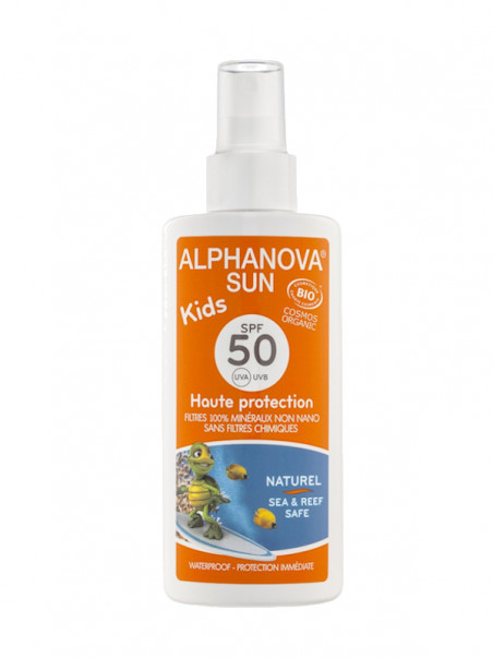 Alphanova Kids SPF 50 spray 125 ml