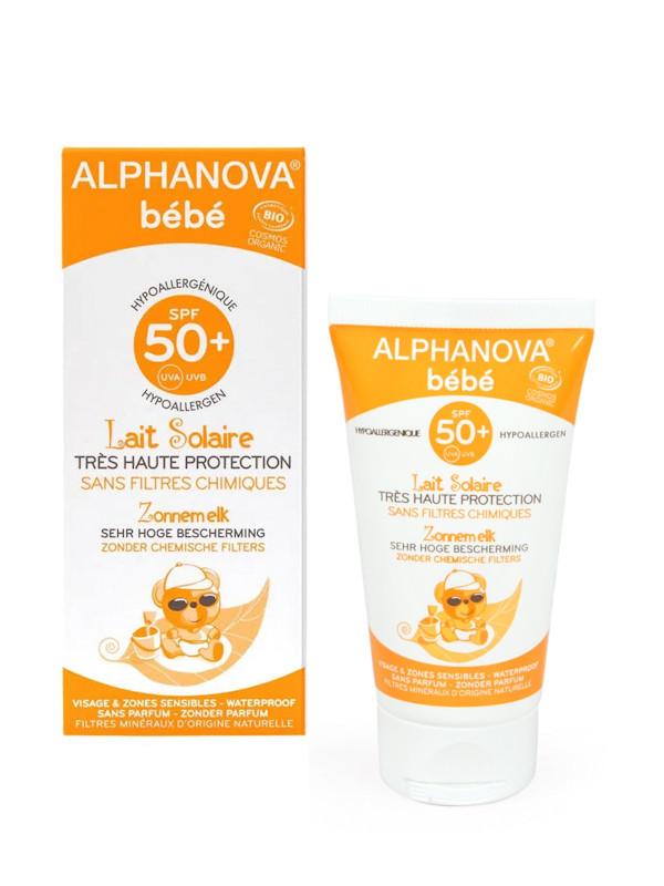 Lait solaire BB Alphanova SPF50