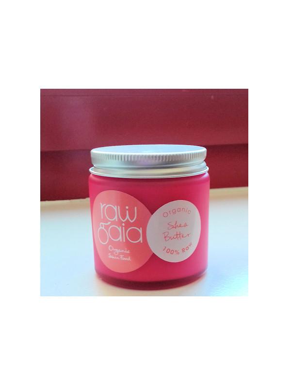 Beurre de karité & Huile d'abricot Raw gaia pot 60 g