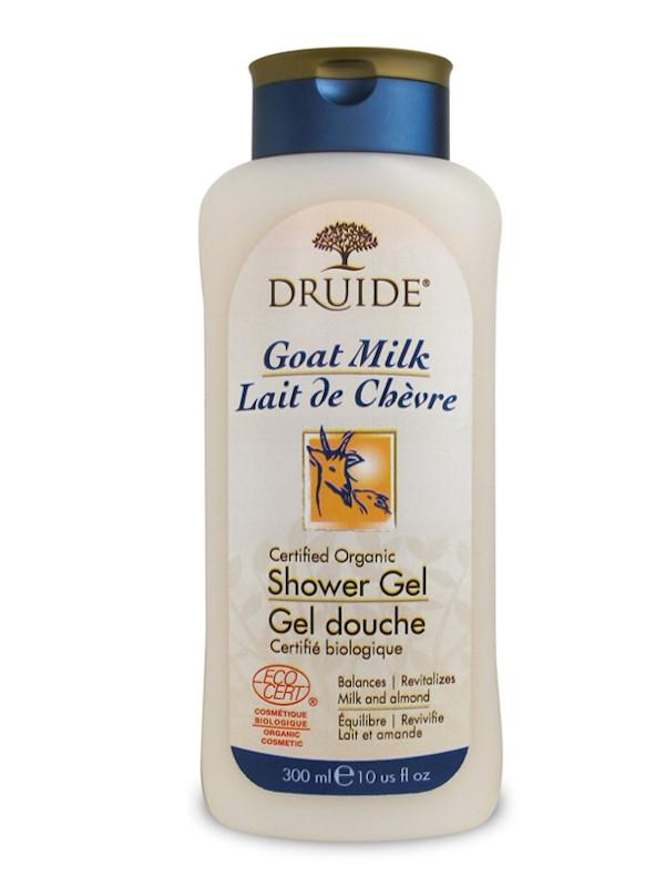 Gel douche lait de chèvre et amande Druide