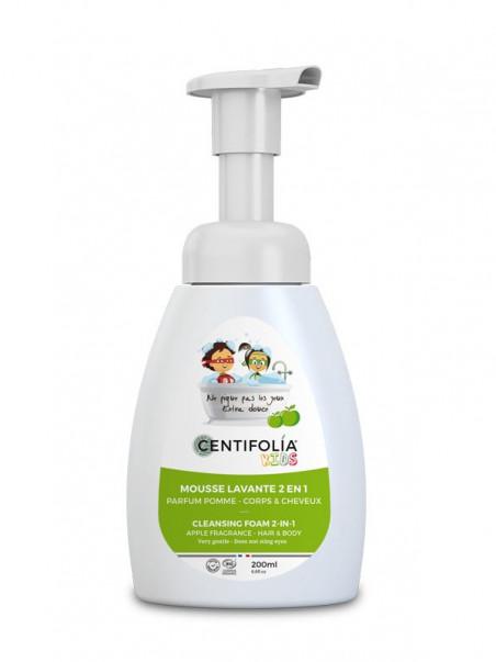 Mousse lavante pour enfants Centifolia Pomme 200 ml
