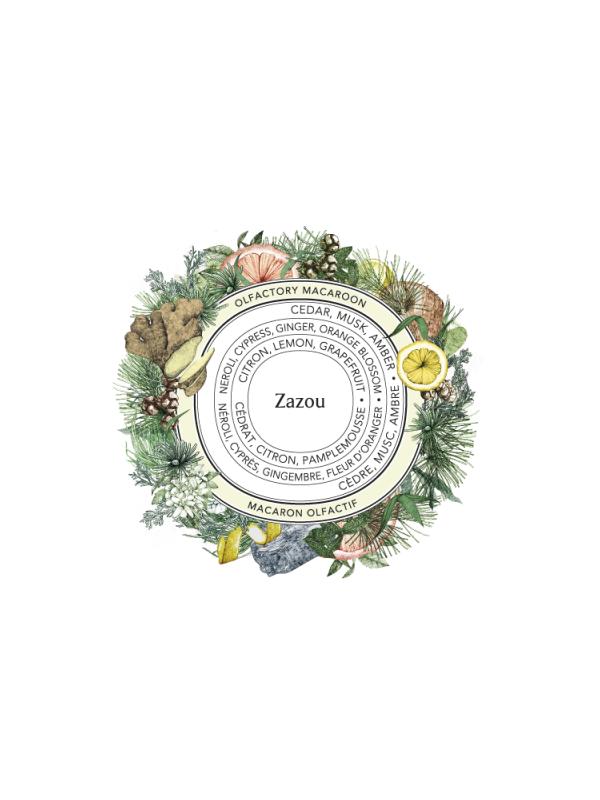 Parfum solide Zazou Sabé Masson