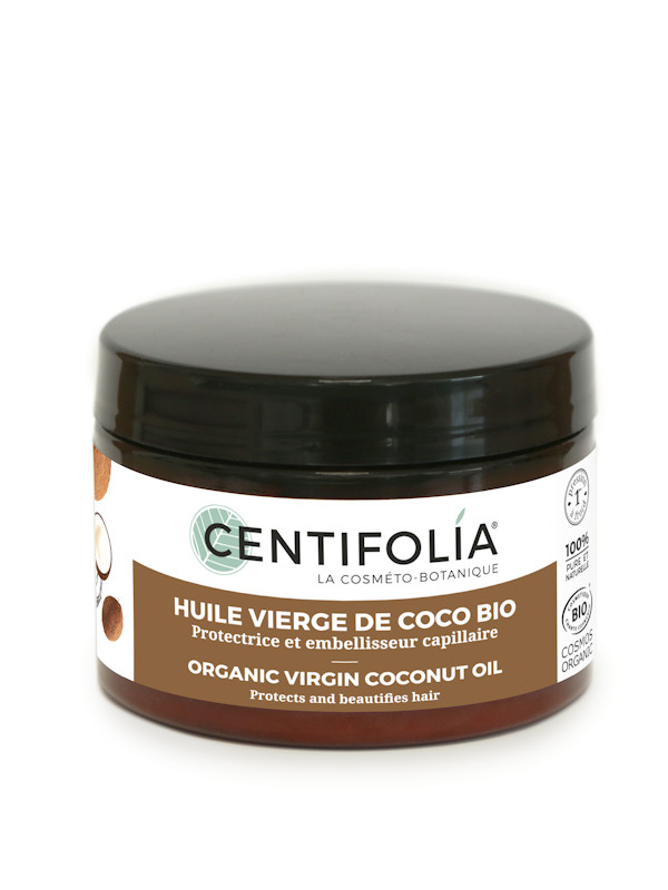 Huile de coco vierge bio pot 125 ml Centifolia