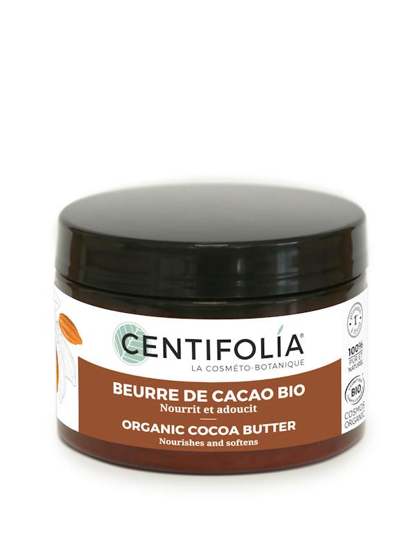 Beurre de cacao bio 100% pur et naturel Centifolia