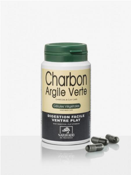 Gélules Charbon Argile Naurado