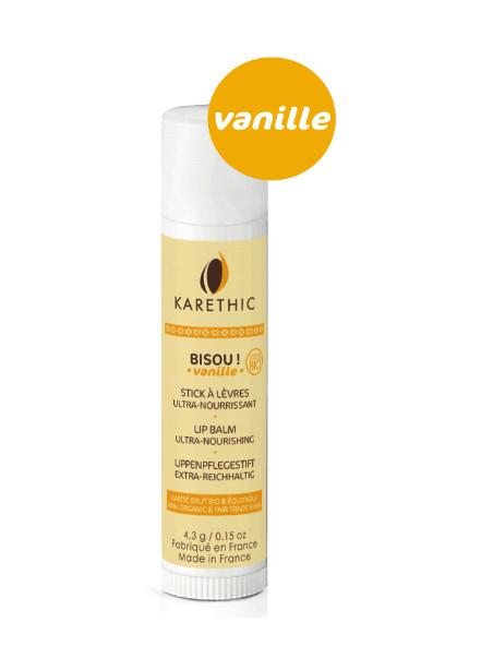 Stick lèvres Bisou vanille Karethic