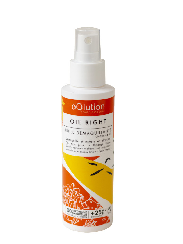 Oil Right Huile démaquillante Oolution 125 ml